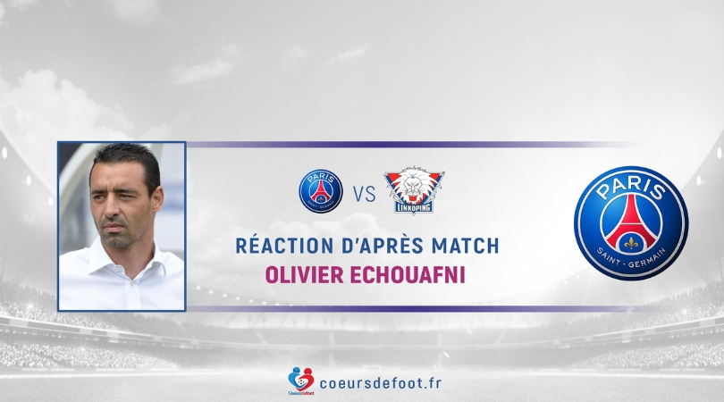 "Olivier Echouafni (PSG): ""I can not be happy with that"""
