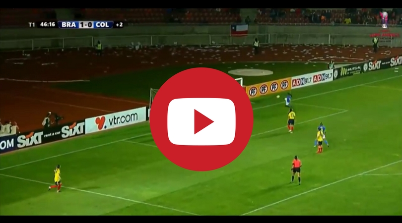Video: Formiga's crazy goal against Colombia