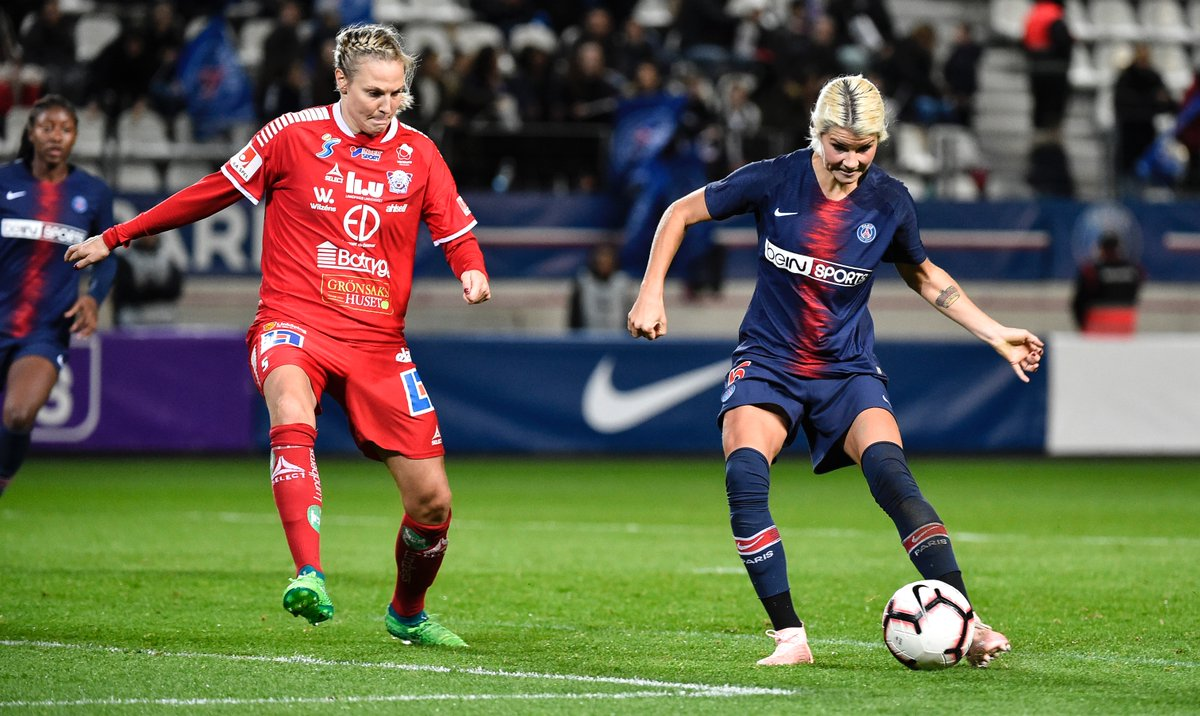 [UWCL, 1 / 8e back] PSG - Linkopings (3-2): PSG cash, but valid his ticket for 1/4