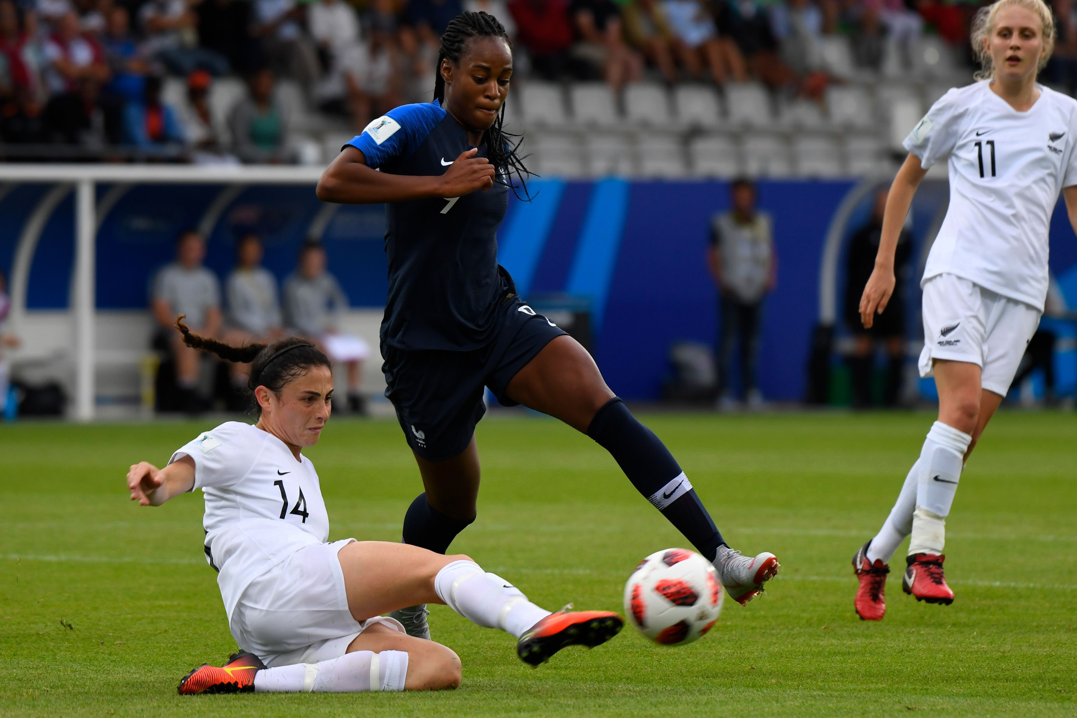 Team of France: The list of Corinne Deacon for Brazil with Marie-Antoinette Katoto